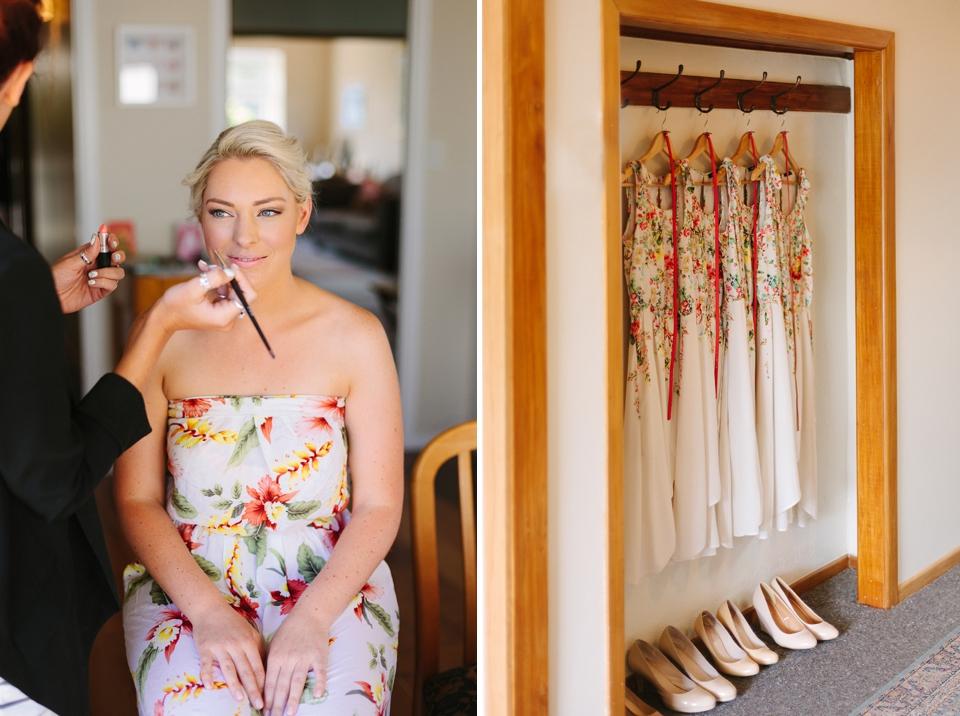 Bruiloft met kleurrijke bruidsmeisjes | Bruiloft Auckland ...